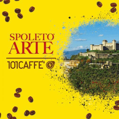 101CAFFE' consolida la partnership con Spoleto Arte