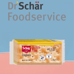 Dr Schär Foodservice introduce nella propria gamma i Crackers Schär