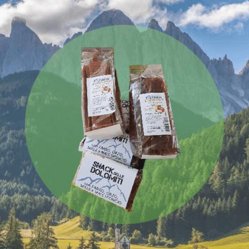"""Lo """"Snack delle Dolomiti"""" per le vending machine del Veneto"""