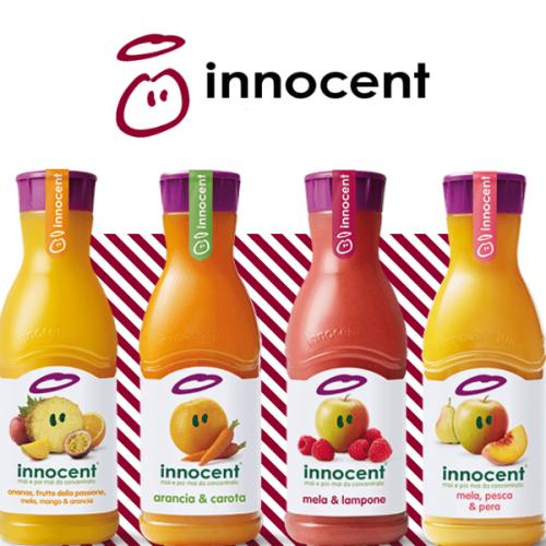 Dopo gli smoothie Innocent lancia in Italia i succhi di frutta