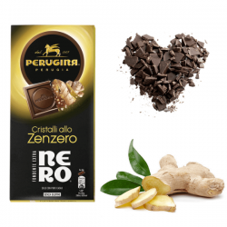 """Perugina Nero Cristalli allo Zenzero dedicato ai """"fondentisti"""""""