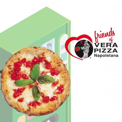 Con J-Momo la vera pizza napoletana nelle vending machine
