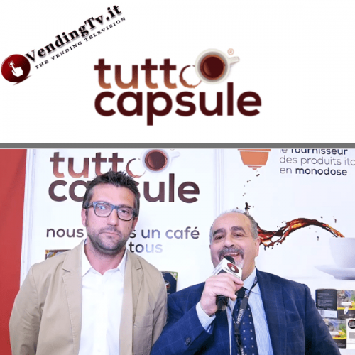 Vending Paris 2019. Intervista allo stand Tuttocapsule