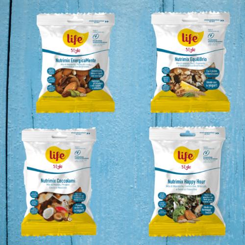 Life amplia la gamma LIFEStyle con 4 nuovi Nutrimix
