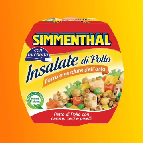 Le Insalate di Pollo Simmenthal ora anche nel canale vending