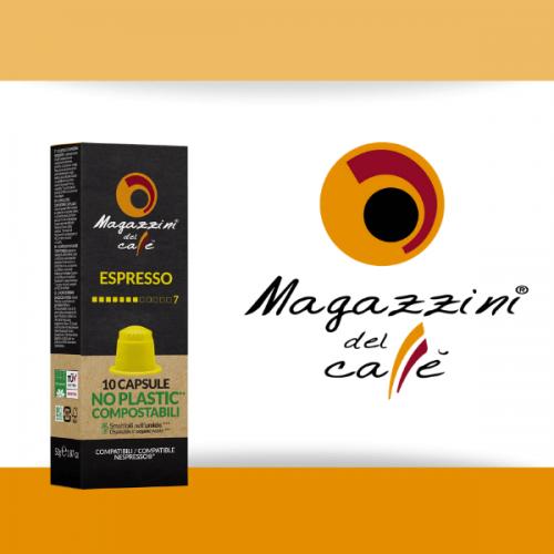 Da Magazzini del Caffè l'ecocapsula compostabile certificata