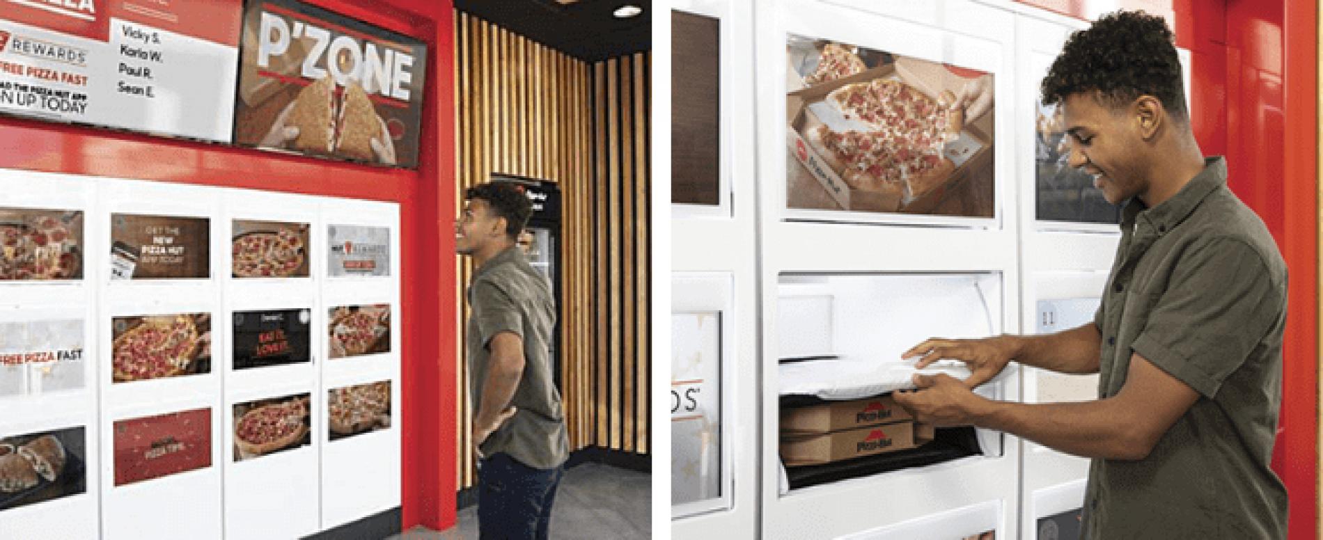 PIZZA HUT sperimenta il delivery automatico