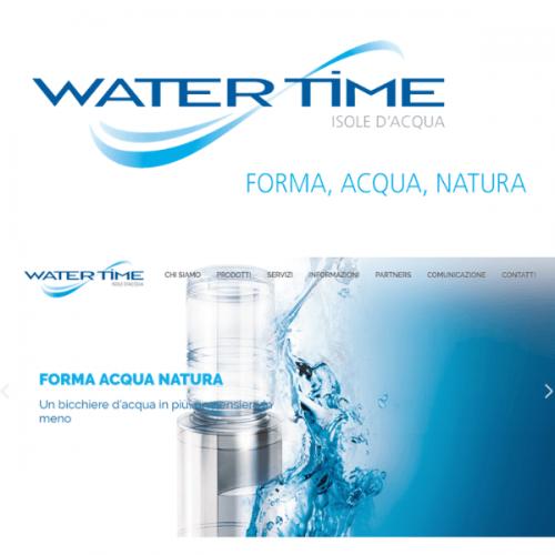 Restyling dell'immagine e nuovo sito per Water Time