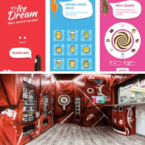 Con Algida e Argenta acquistare un gelato diventa un'esperienza interattiva