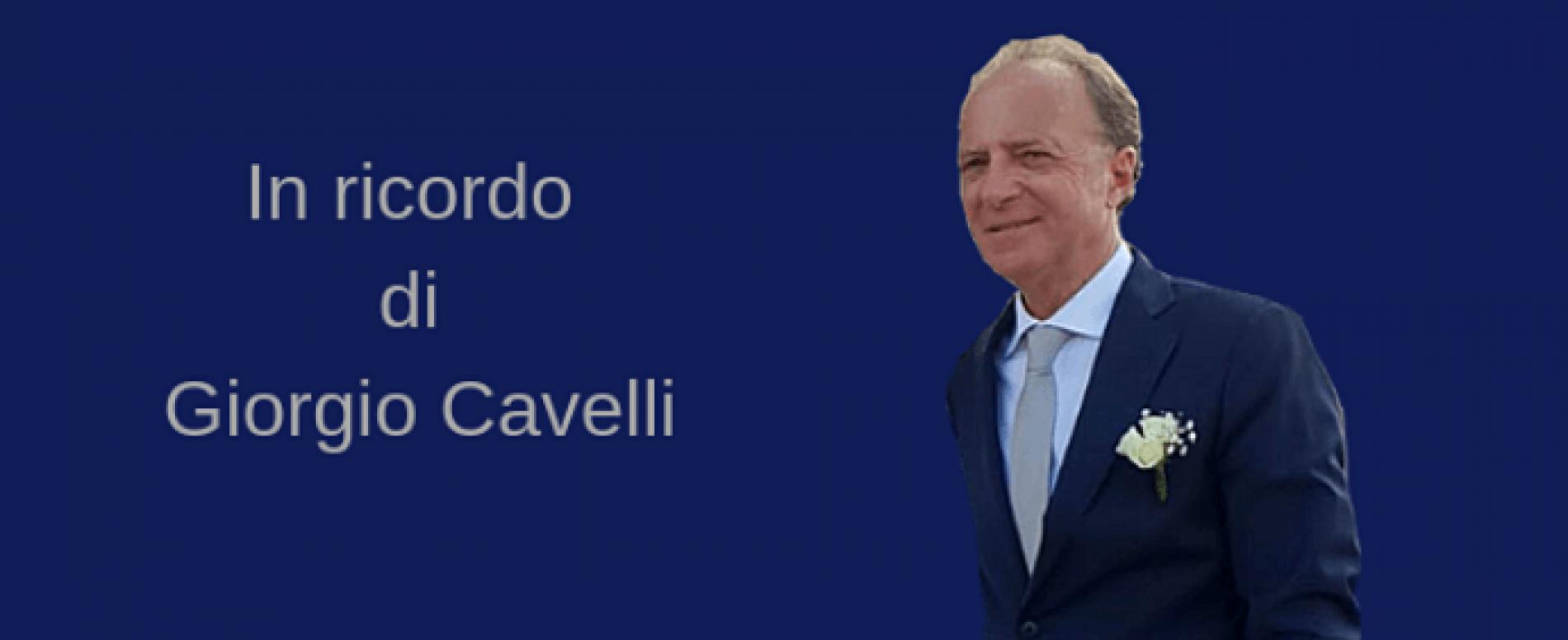 Fulvio Di Santo in ricordo di Giorgio Cavelli