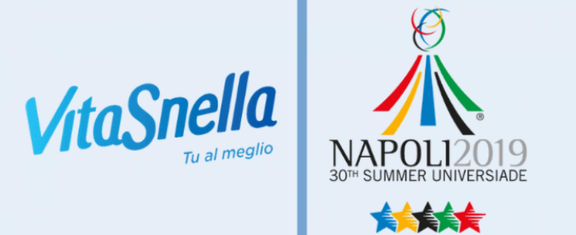 Acqua Vitasnella è official water di Napoli 2019 Summer Universiade