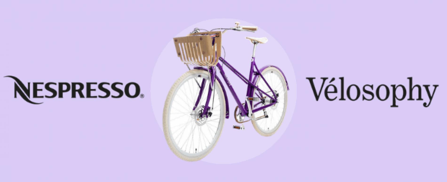 RE:CYCLE di Nespresso. La bici fatta con le capsule riciclate
