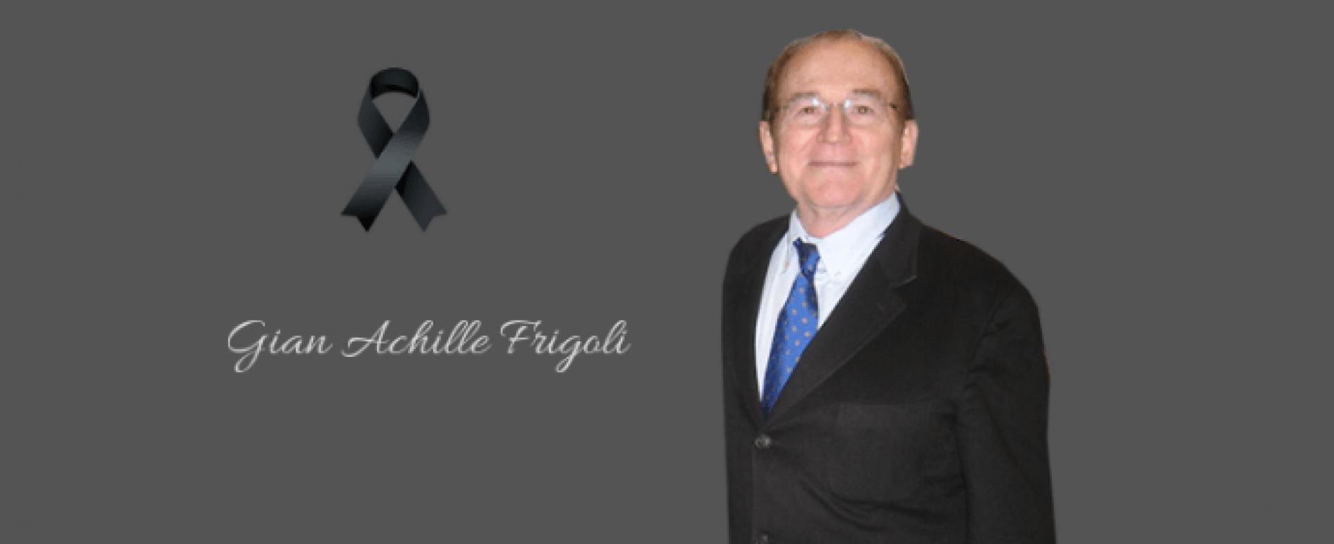Lutto nel Vending: è venuto a mancare Gian Achille Frigoli