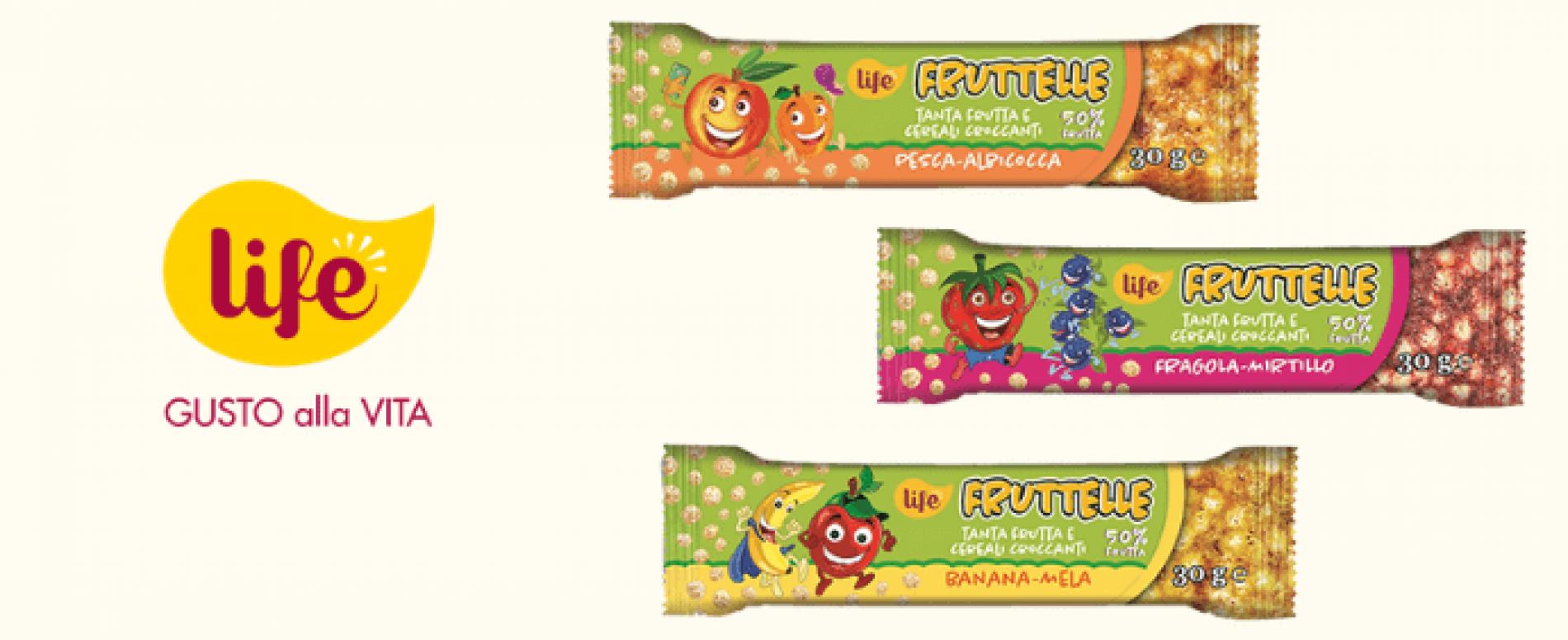 Le nuove Fruttelle LIFE addolciscono il Back to School!