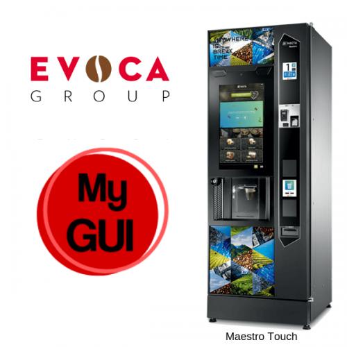 EVOCA lancia My GUI il software che personalizza la Maestro Touch