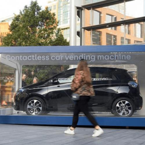 A Londra la Renault Zoe si acquista al distributore. Ma è solo una provocazione!