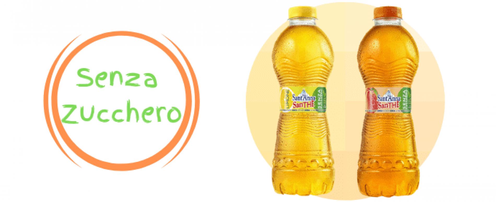 SanTHE' Sant'Anna senza zucchero: dissetarsi con leggerezza!