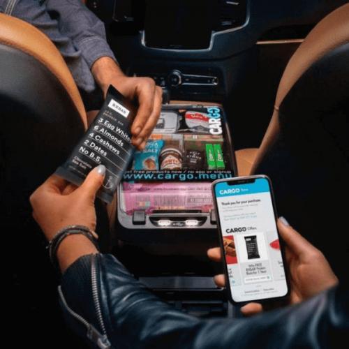 Vending-in-car. Con Uber e Cargo Store viaggi e acquisti