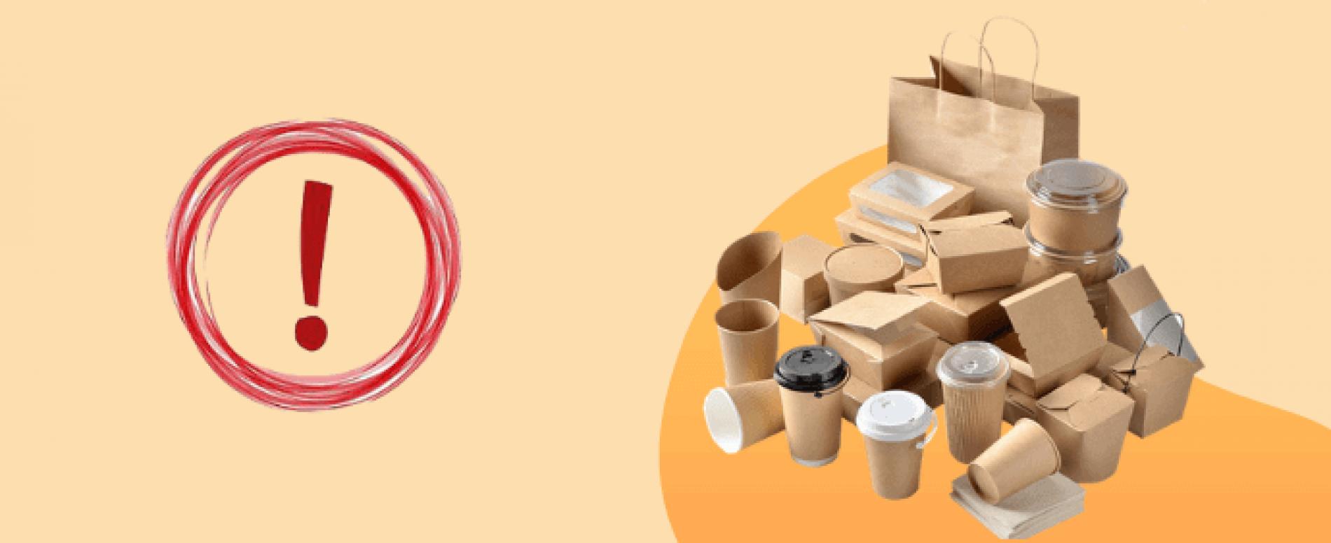Carta e cartone alimentare in alternativa alla plastica: rischi per la salute