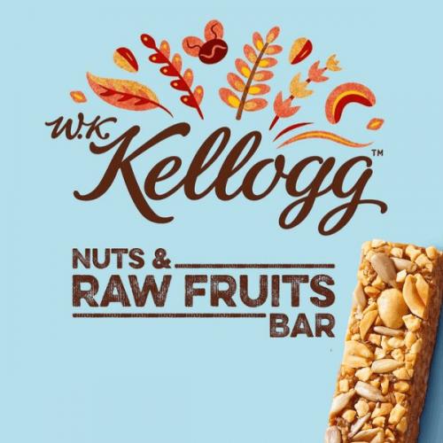 Le nuove W.K. Kellogg Nuts & Raw Bar: barrette naturali e nutrienti ideali per il vending