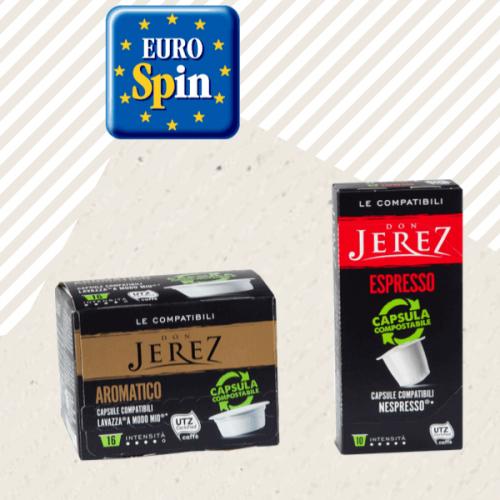 A FestivalFuturo la catena Eurospin propone le sue capsule compostabili