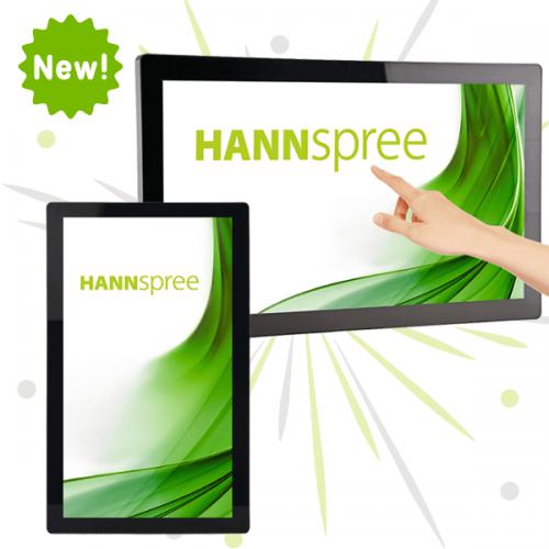 HANNspree aggiorna la gamma di Monitor Open Frame a tecnologia touch