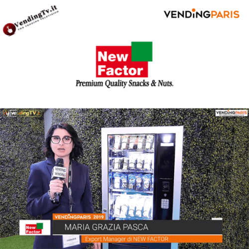 Vending Paris 2019. Intervista allo stand New Factor