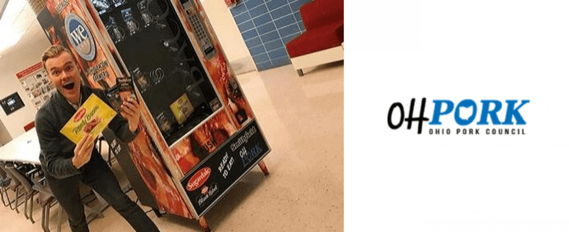 Anche gli allevatori di maiale dell'Ohio hanno la loro vending machine