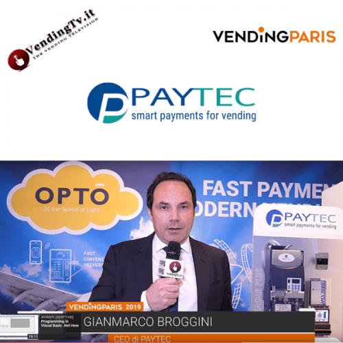 Vending Paris 2019. Intervista allo stand Paytec