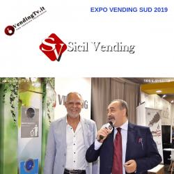 Expo Vending Sud 2019. Intervista con Tito Alescio della Sicil Vending