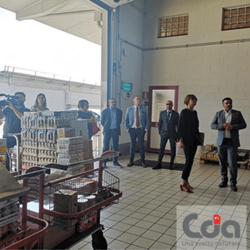 L'assessore della regione FVG Alessia Rosolen visita la sede della CDA
