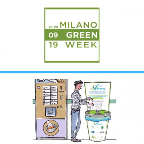 Il progetto RiVending illustrato alla Milano Green Week