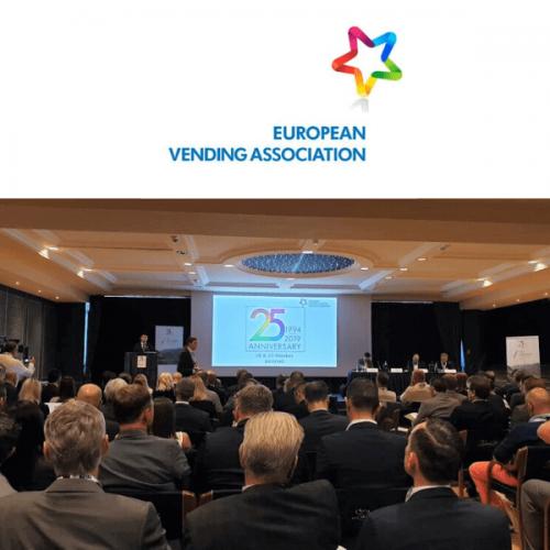 EVA: la festa per i 25 anni dell'associazione europea del settore Vending e OCS