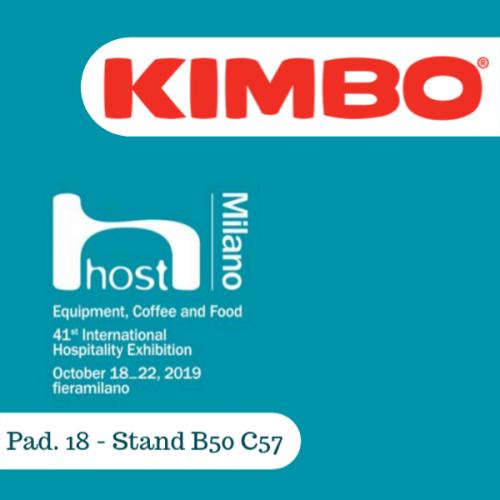 Kimbo a Host 2019 con un maxi stand e le novità in capsule