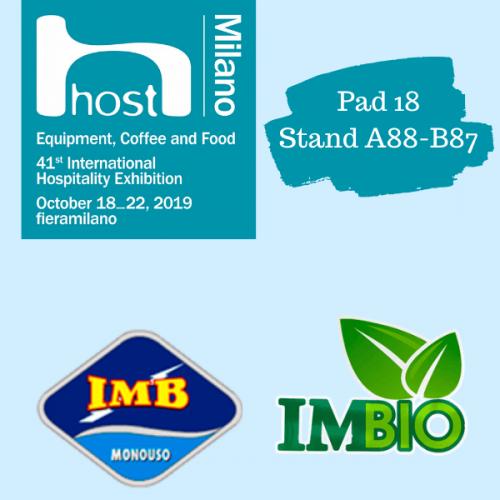 Presentato a Host il primo bicchierino termoresistente e compostabile per distributori automatici IMB