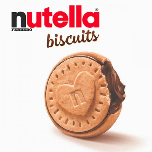 Arrivano in Italia i Nutella Biscuits