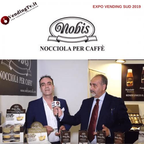 Expo Vending Sud 2019. Intervista con Luigi Nobis di Avellana TDS srl (Nobis)