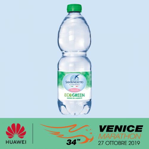 Acqua Minerale San Benedetto disseta gli atleti della 34° Huawei Venicemarathon