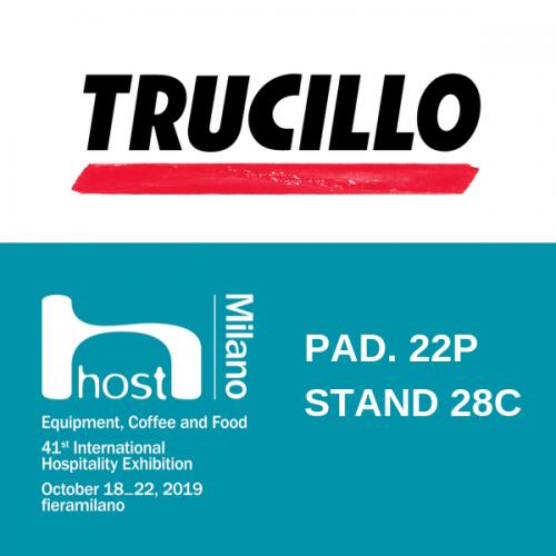 Trucillo presenta a Host 2019 il suo nuovo rebranding