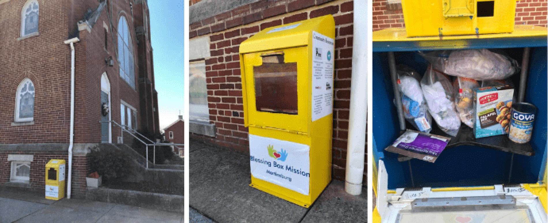 Blessing Box: un d.a. di beni e benedizioni per i senzatetto