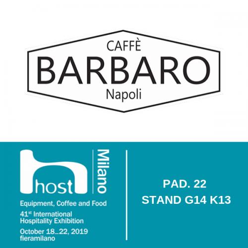 CAFFÈ BARBARO presenta a HOST il suo negozio in franchising