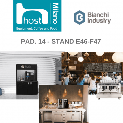 "Bianchi Industry a HOST 2019 col concept ""Design Your Break"""