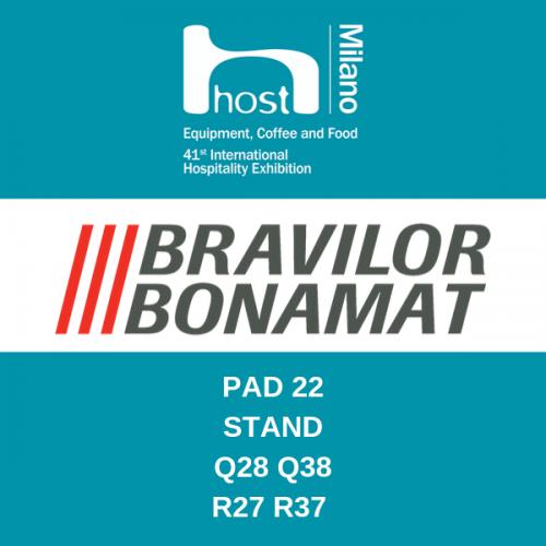 Bravilor a HOST 2019 con le novità per il mercato italiano