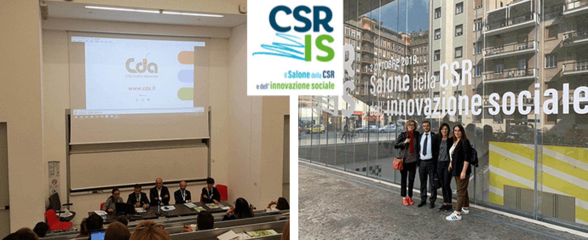 CDA Cattelan Distributori Automatici a Milano al Salone CSR
