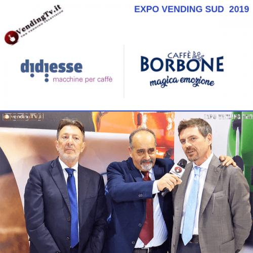 Expo Vending Sud 2019. Intervista allo stand Didiesse – Caffè Borbone