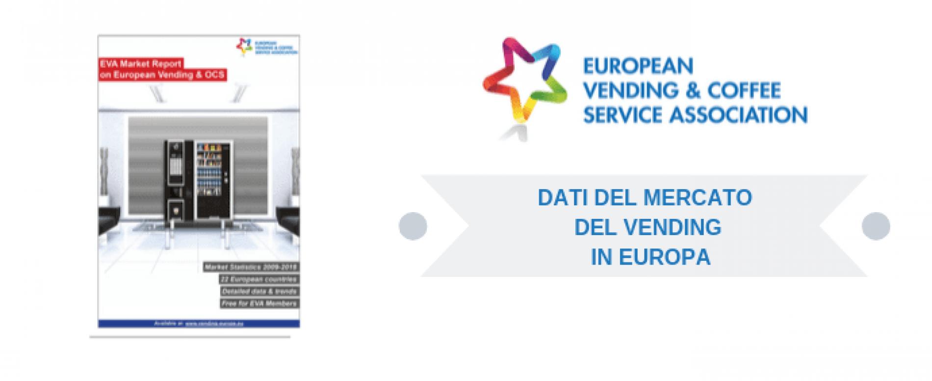 Disponibile il rapporto annuale dell'EVA sul mercato europeo del Vending