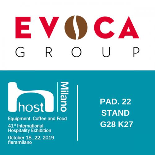 EVOCA Group a HOST con una nuova gamma a marchio Gaggia Milano