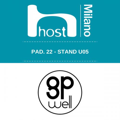 A HOST 2019 tutte le novità gpwell Giant Power – Pad. 22 Stand U05