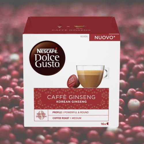 Nescafé Dolce Gusto lancia le nuove capsule al Ginseng