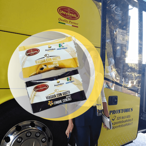 "Universal Caffè e Prontobus ""quality partner"" on the road"